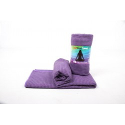 Om Namaste Hot-Yoga-Towel - lila